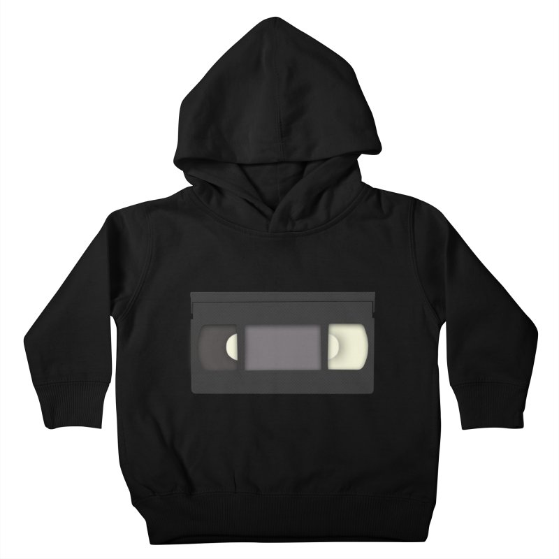 VHS Kids Toddler Pullover Hoody by stonestreet's Artist Shop