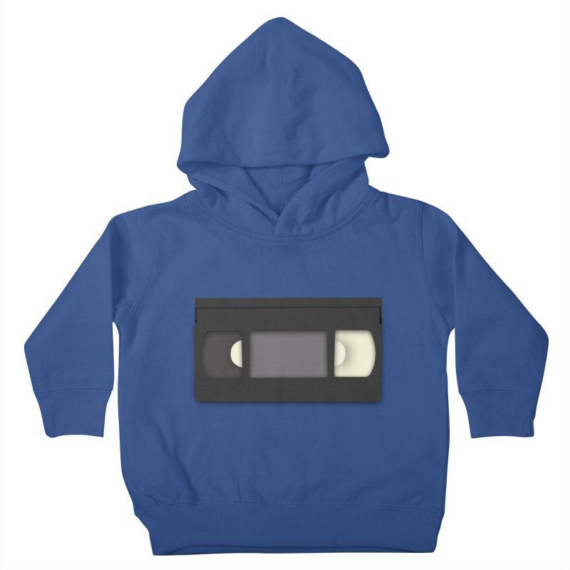 VHS Kids Toddler Pullover Hoody by stonestreet's Artist Shop
