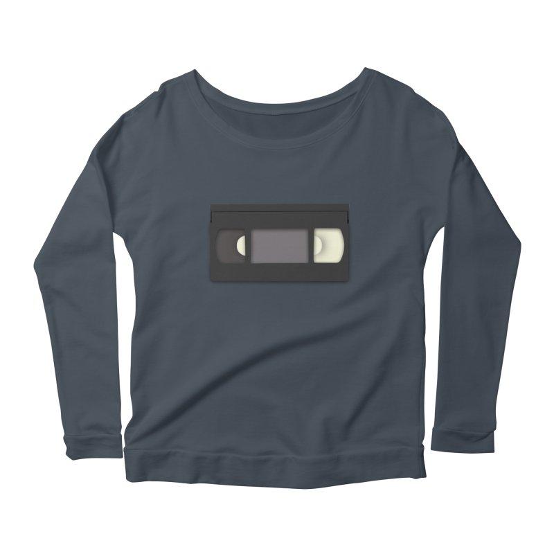 VHS Women's Scoop Neck Longsleeve T-Shirt by stonestreet's Artist Shop