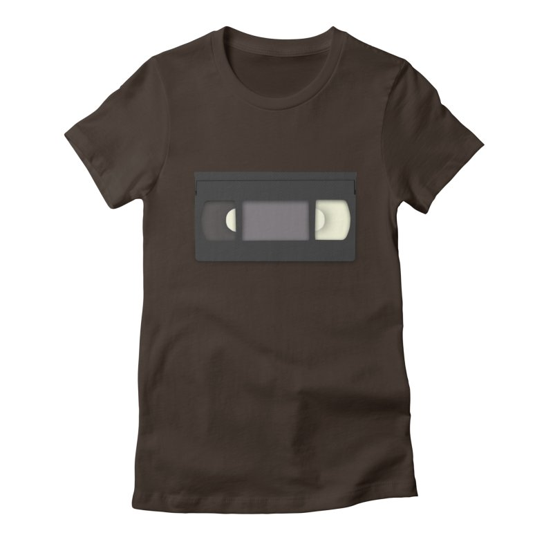 VHS Women's Fitted T-Shirt by stonestreet's Artist Shop