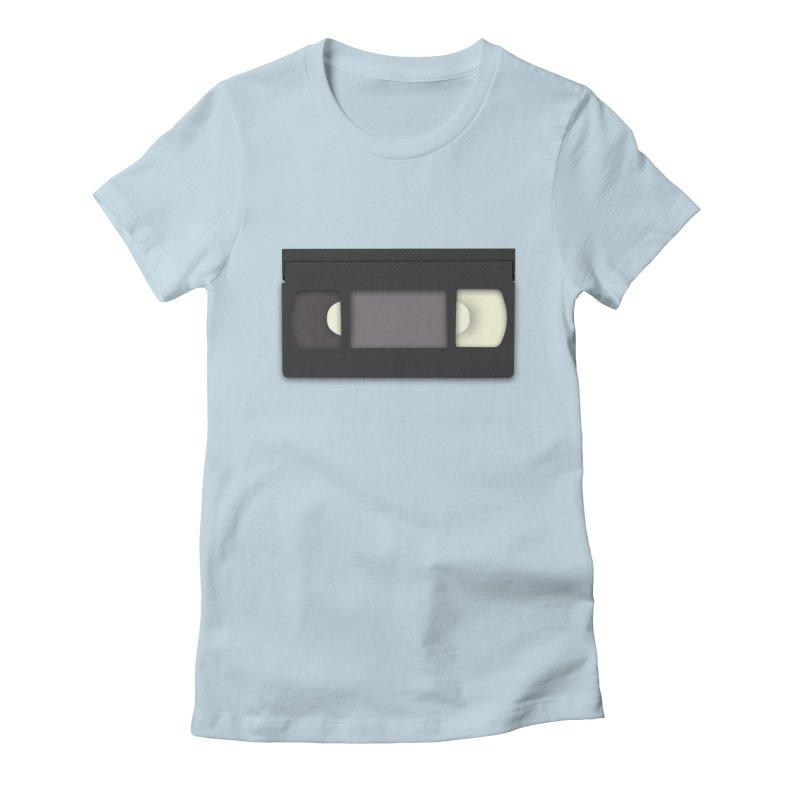 VHS Women's Fitted T-Shirt by stonestreet's Artist Shop