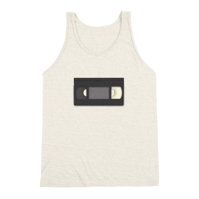 VHS Men's Triblend Tank by stonestreet's Artist Shop
