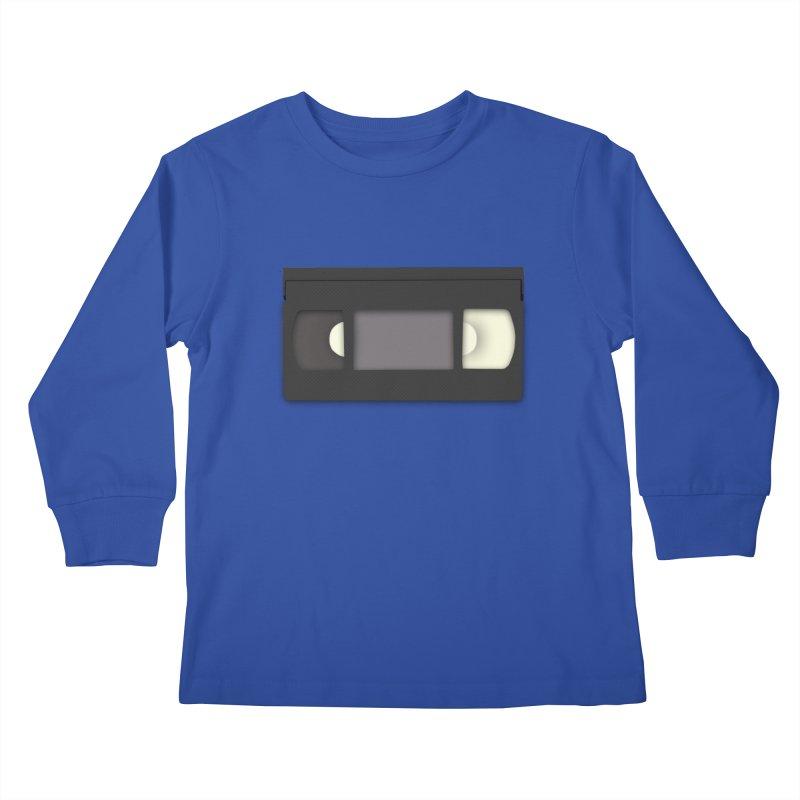 VHS Kids Longsleeve T-Shirt by stonestreet's Artist Shop