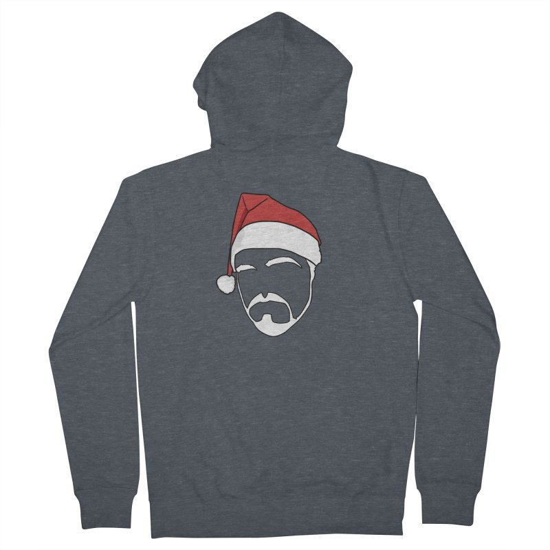 Heading For Christmas Women's French Terry Zip-Up Hoody by stonestreet's Artist Shop