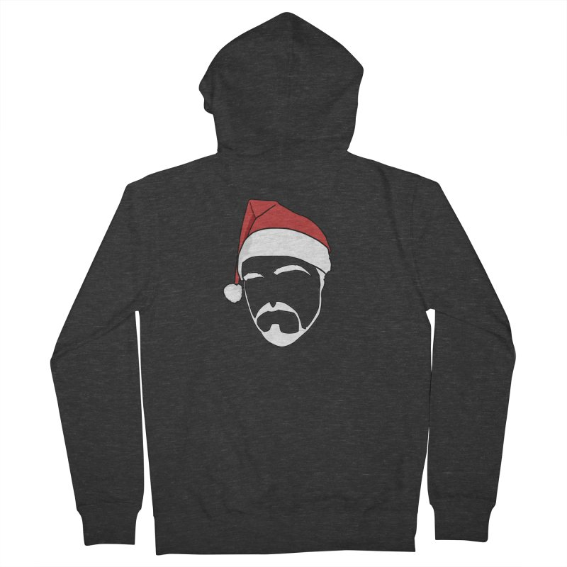 Heading For Christmas Men's French Terry Zip-Up Hoody by stonestreet's Artist Shop