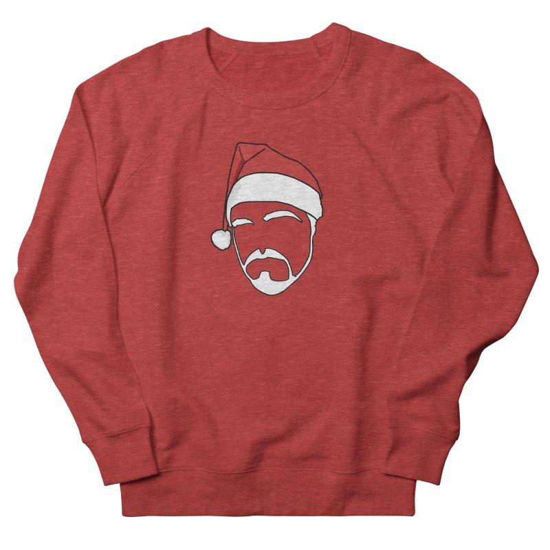 Heading For Christmas Men's French Terry Sweatshirt by stonestreet's Artist Shop