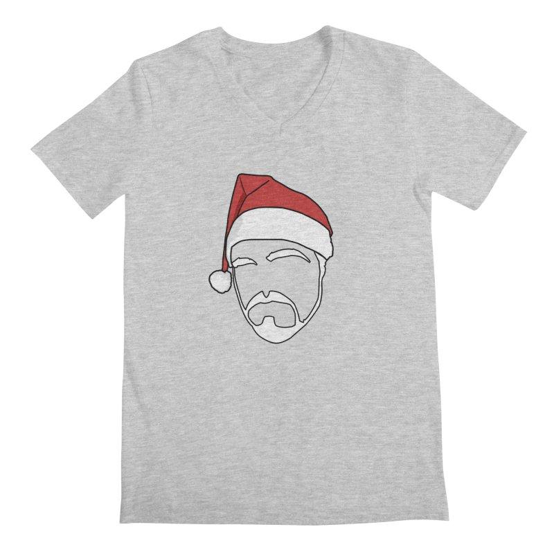Heading For Christmas Men's Regular V-Neck by stonestreet's Artist Shop