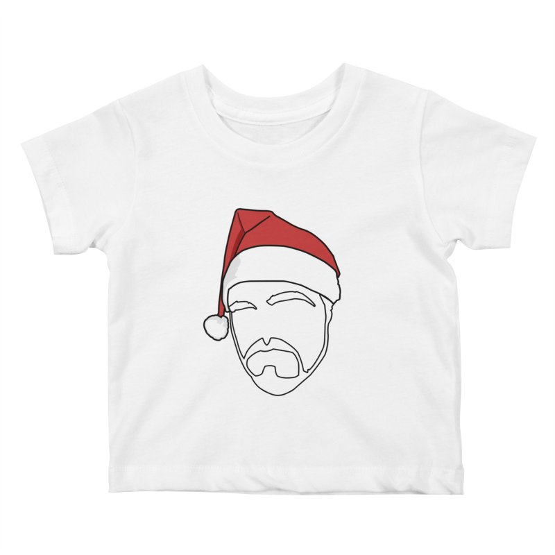 Heading For Christmas Kids Baby T-Shirt by stonestreet's Artist Shop