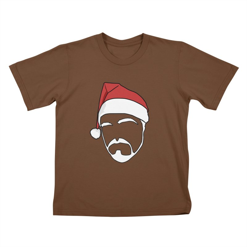 Heading For Christmas Kids T-Shirt by stonestreet's Artist Shop