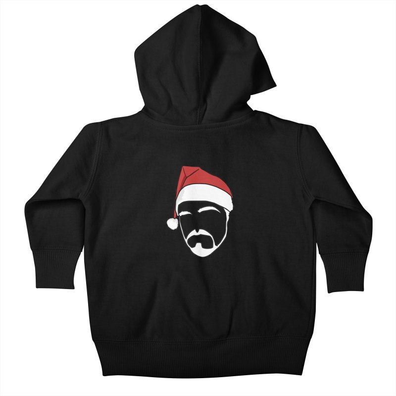 Heading For Christmas Kids Baby Zip-Up Hoody by stonestreet's Artist Shop