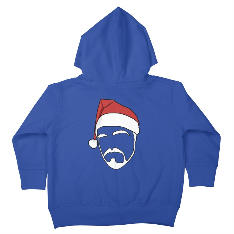 Heading For Christmas Kids Toddler Zip-Up Hoody by stonestreet's Artist Shop