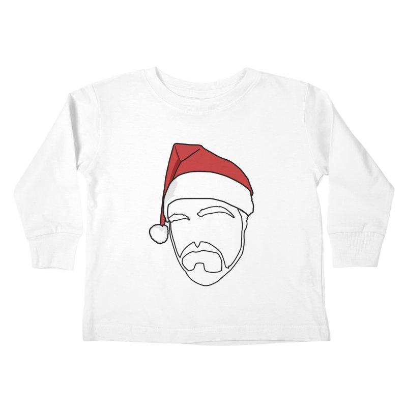 Heading For Christmas Kids Toddler Longsleeve T-Shirt by stonestreet's Artist Shop