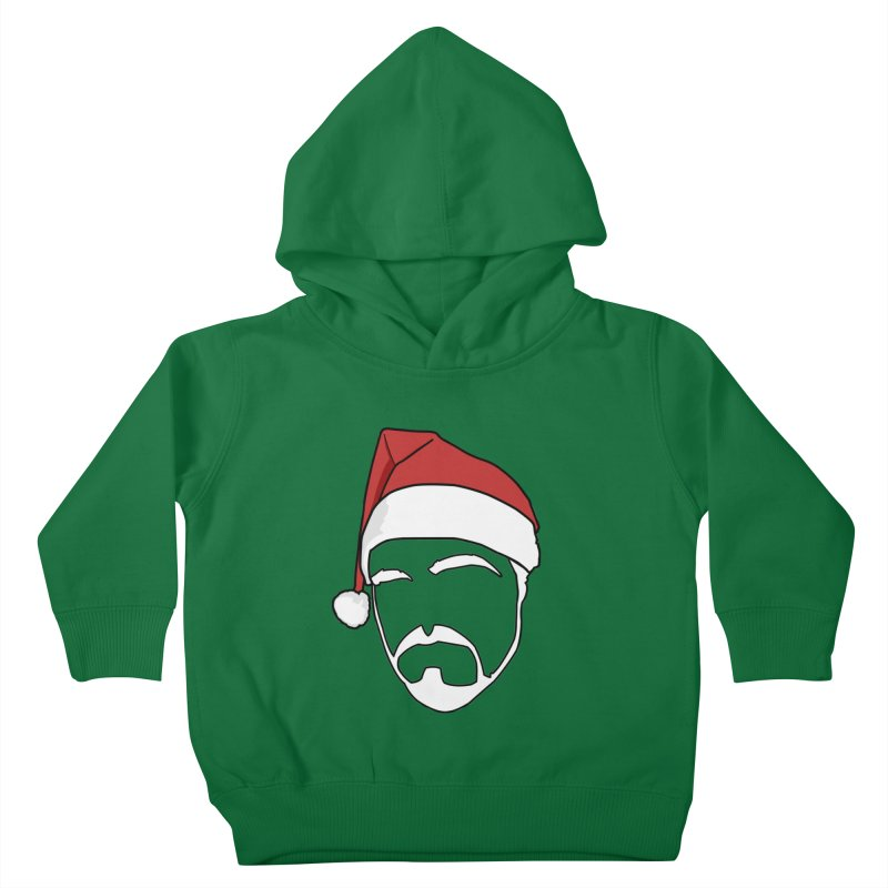 Heading For Christmas Kids Toddler Pullover Hoody by stonestreet's Artist Shop