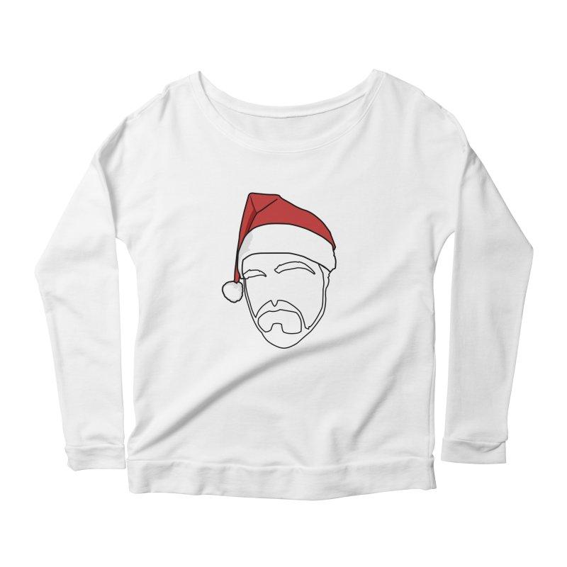 Heading For Christmas Women's Scoop Neck Longsleeve T-Shirt by stonestreet's Artist Shop