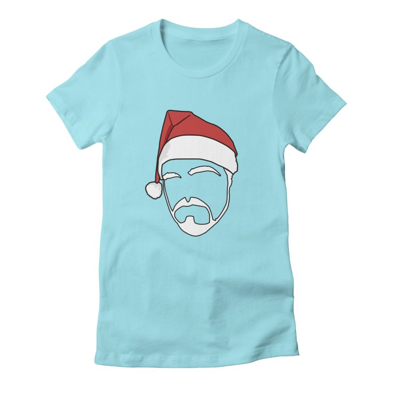 Heading For Christmas Women's Fitted T-Shirt by stonestreet's Artist Shop