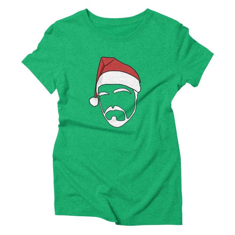 Heading For Christmas Women's Triblend T-Shirt by stonestreet's Artist Shop