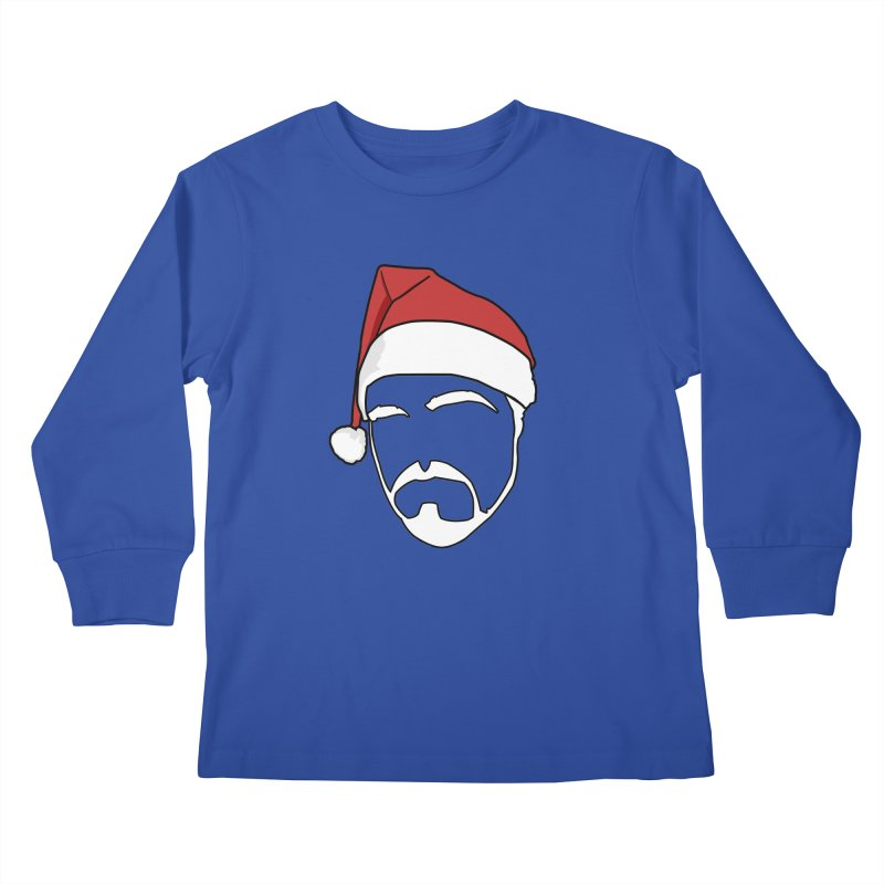 Heading For Christmas Kids Longsleeve T-Shirt by stonestreet's Artist Shop
