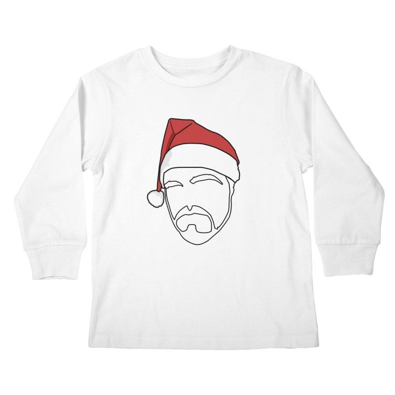Heading For Christmas Kids Longsleeve T-Shirt by stonestreet's Artist Shop