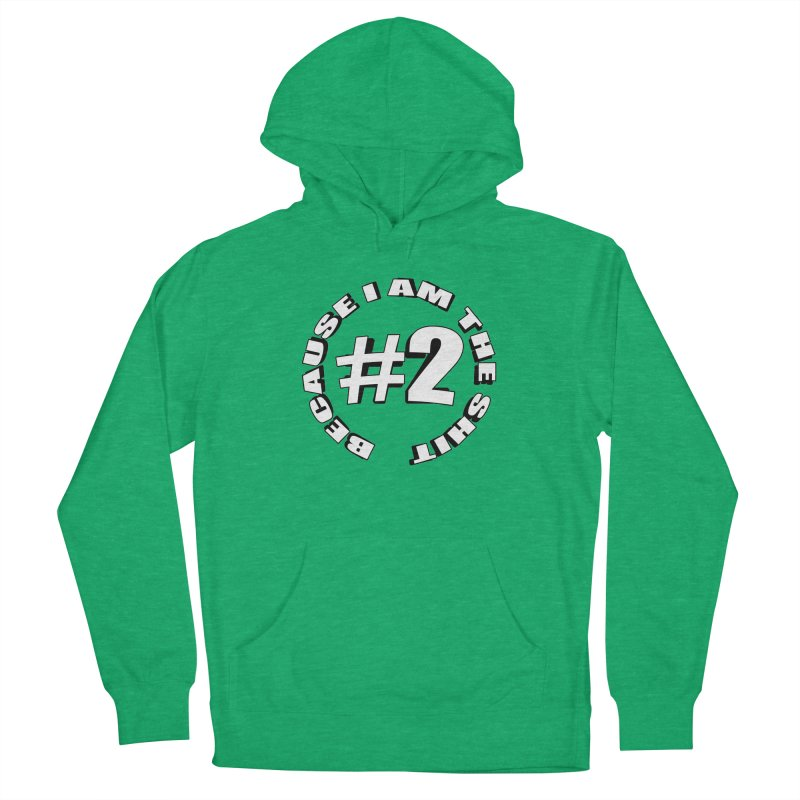 Number Two Women's French Terry Pullover Hoody by stonestreet's Artist Shop