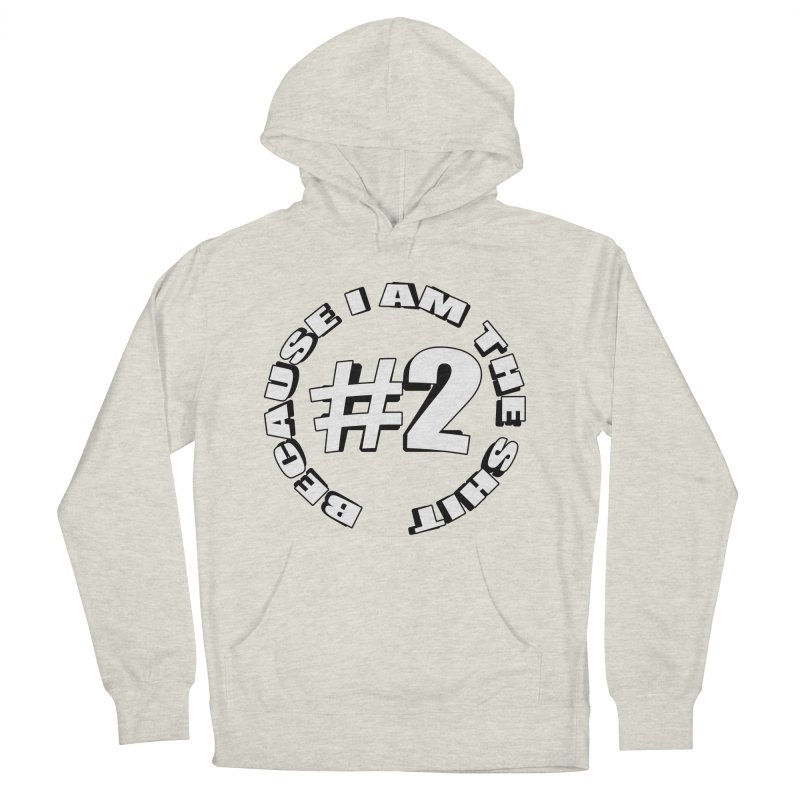 Number Two Men's French Terry Pullover Hoody by stonestreet's Artist Shop