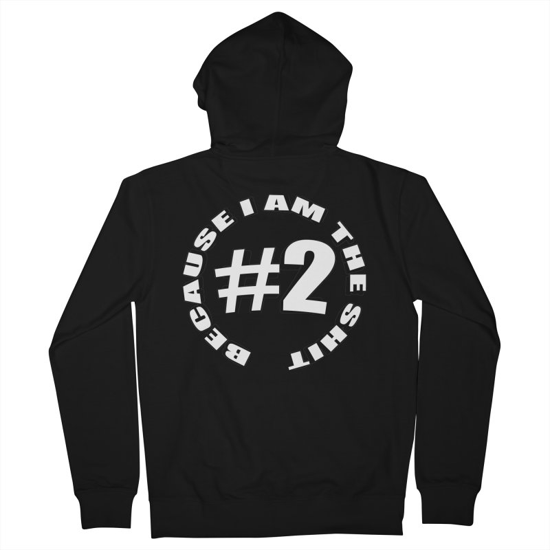 Number Two Women's French Terry Zip-Up Hoody by stonestreet's Artist Shop