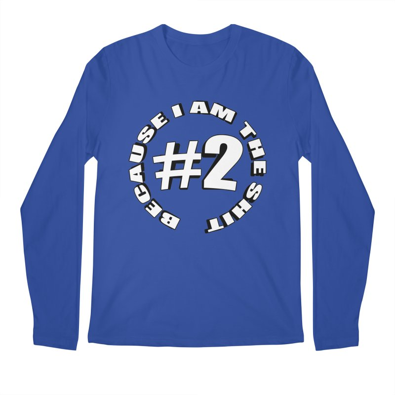 Number Two Men's Regular Longsleeve T-Shirt by stonestreet's Artist Shop