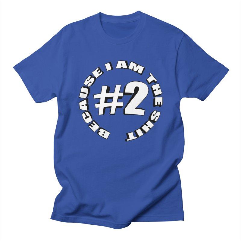 Number Two Men's Regular T-Shirt by stonestreet's Artist Shop