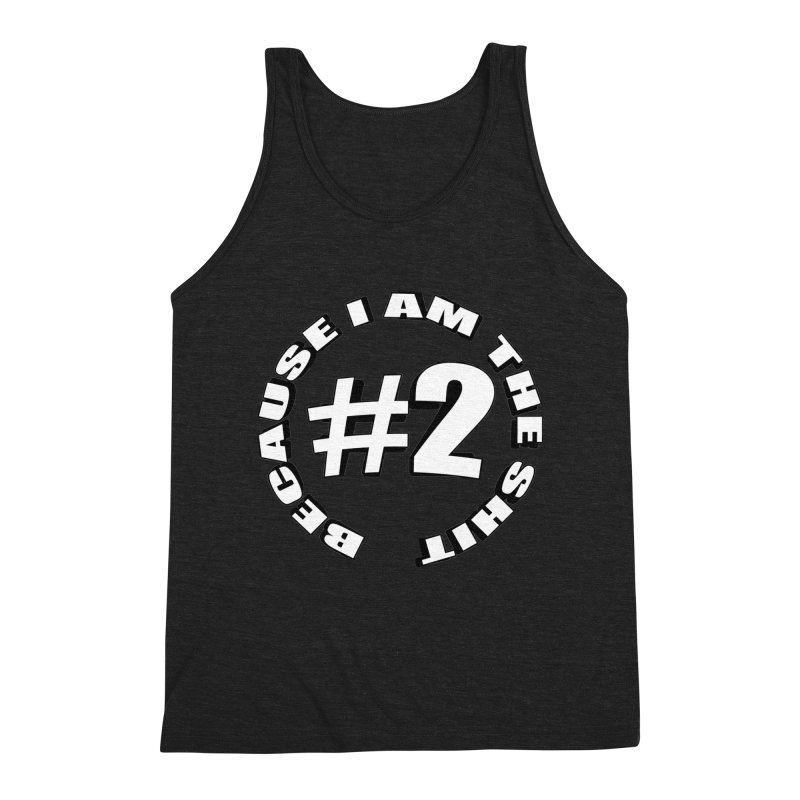 Number Two Men's Triblend Tank by stonestreet's Artist Shop