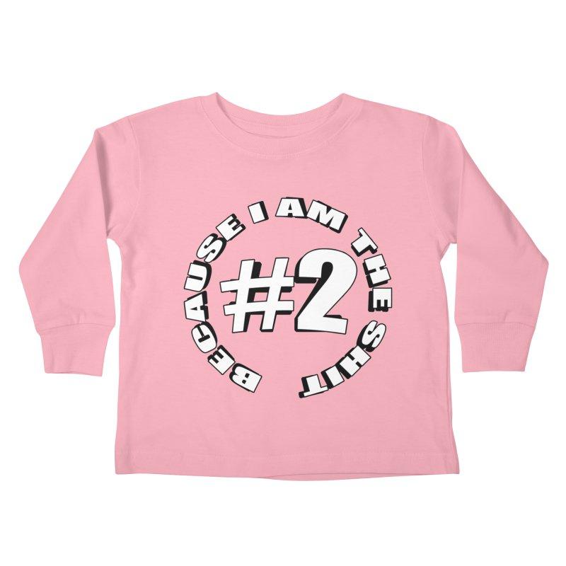 Number Two Kids Toddler Longsleeve T-Shirt by stonestreet's Artist Shop