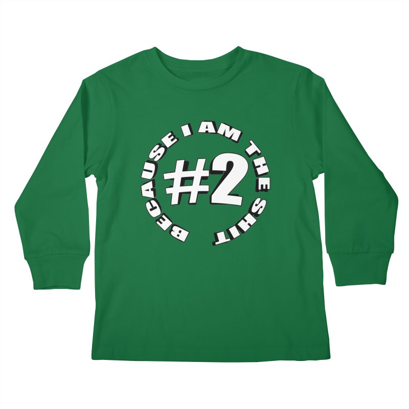 Number Two Kids Longsleeve T-Shirt by stonestreet's Artist Shop