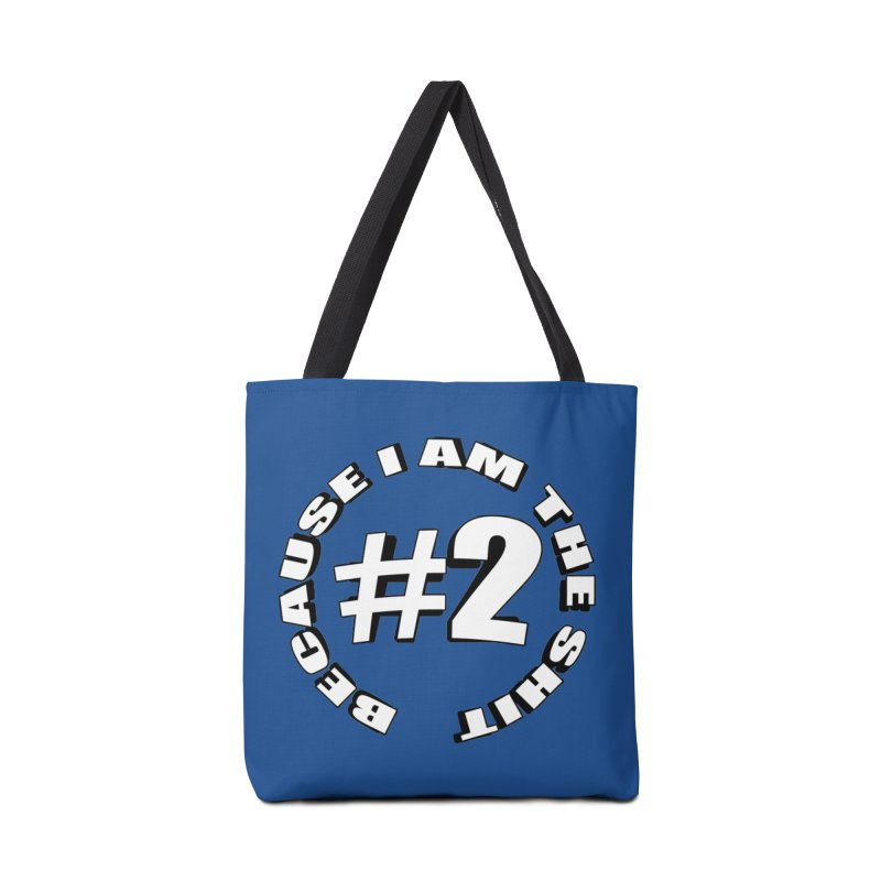 Number Two Accessories Tote Bag Bag by stonestreet's Artist Shop