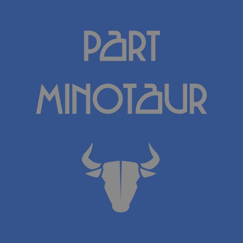 Part Minotaur Men's Longsleeve T-Shirt by Stonestreet Designs