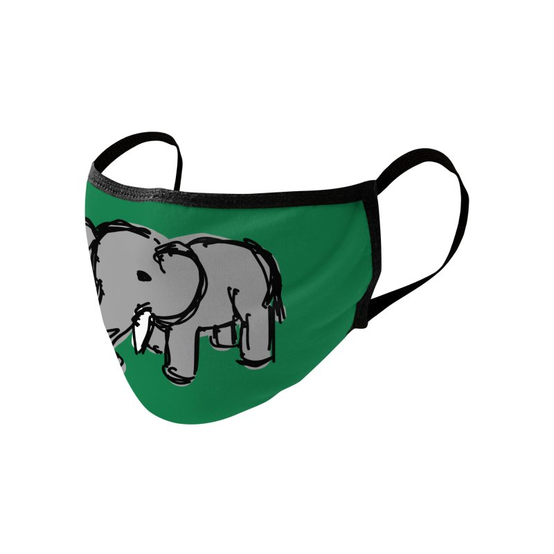 Elephant Accessories Face Mask by Stonestreet Designs