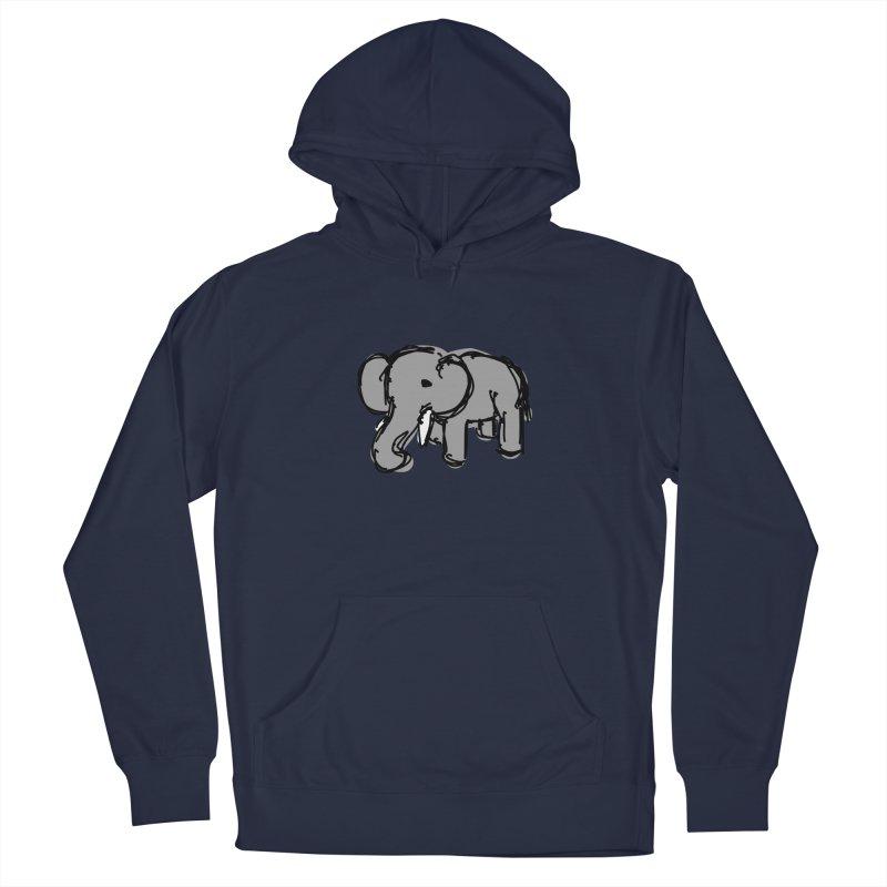 Elephant Men's Pullover Hoody by Stonestreet Designs