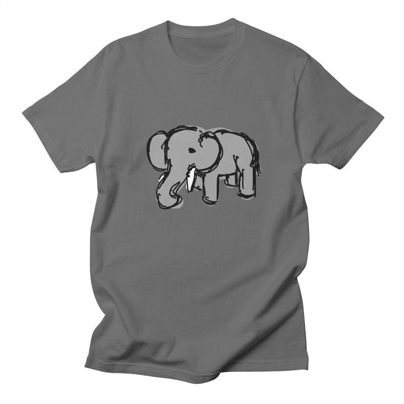 Elephant Men's T-Shirt by Stonestreet Designs