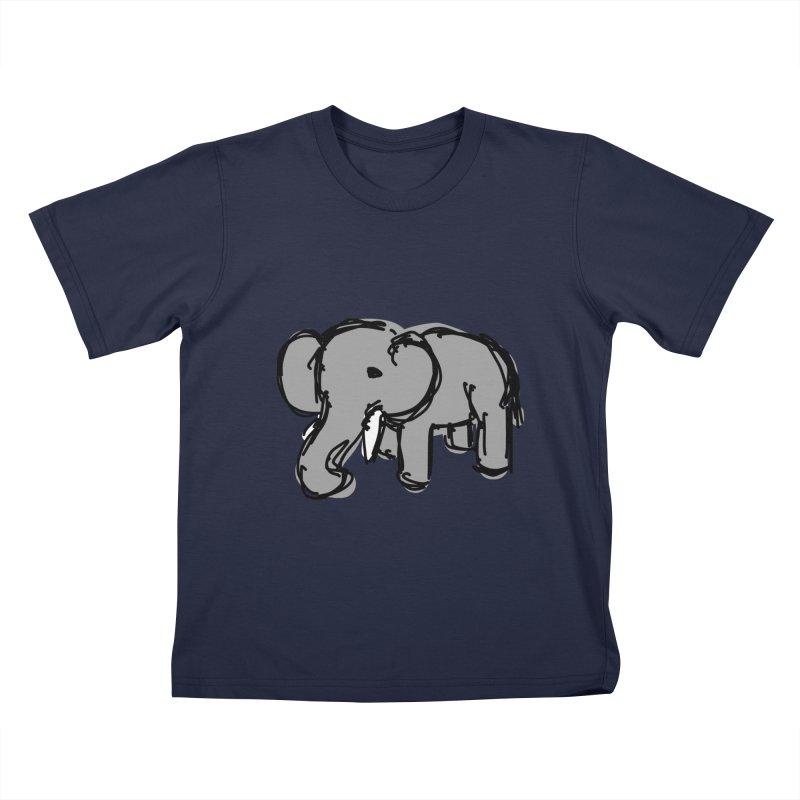 Elephant Kids T-Shirt by Stonestreet Designs