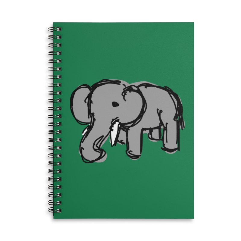 Elephant Accessories Notebook by Stonestreet Designs