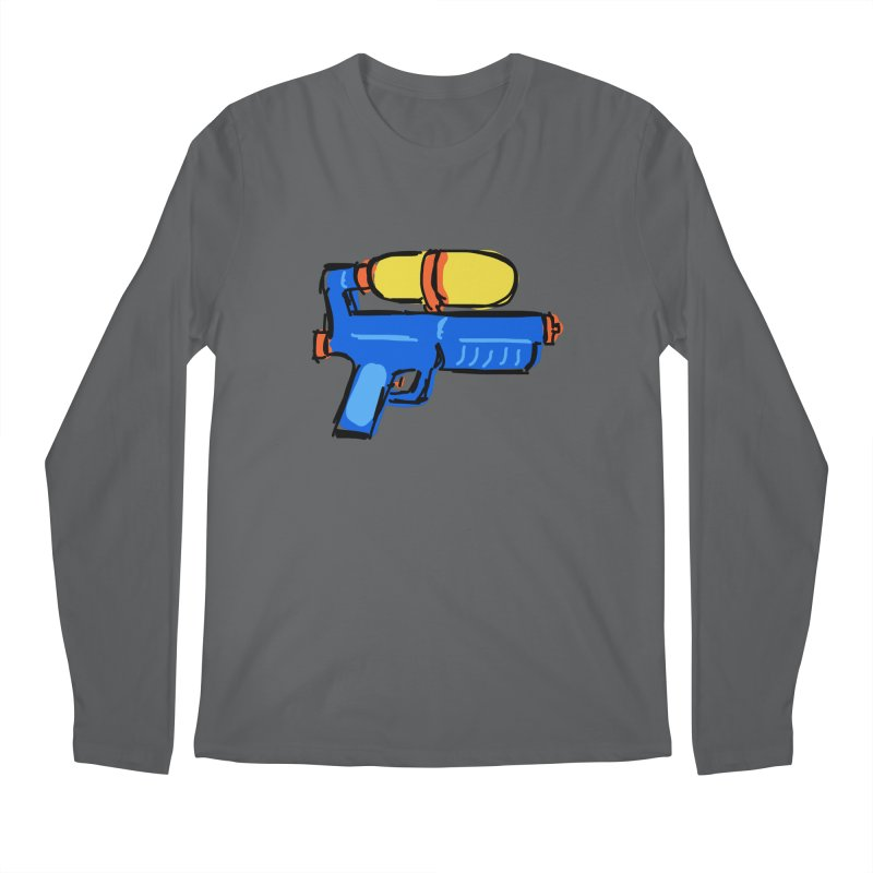 Water Gun Men's Longsleeve T-Shirt by Stonestreet Designs