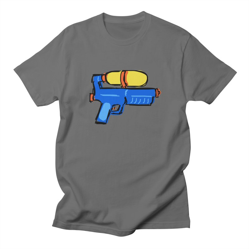 Water Gun Men's T-Shirt by Stonestreet Designs