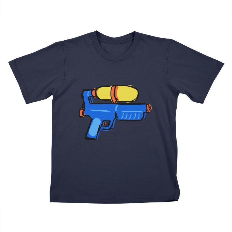 Water Gun Kids T-Shirt by Stonestreet Designs