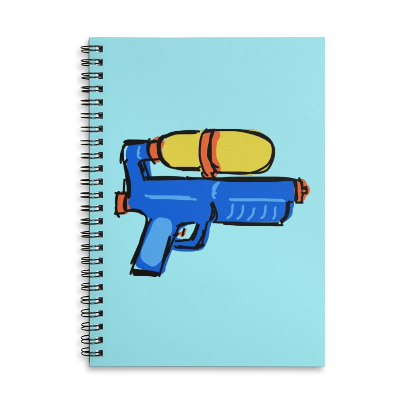 Water Gun Accessories Notebook by Stonestreet Designs