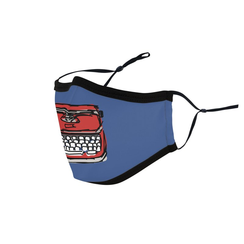 Typewriter Accessories Face Mask by Stonestreet Designs