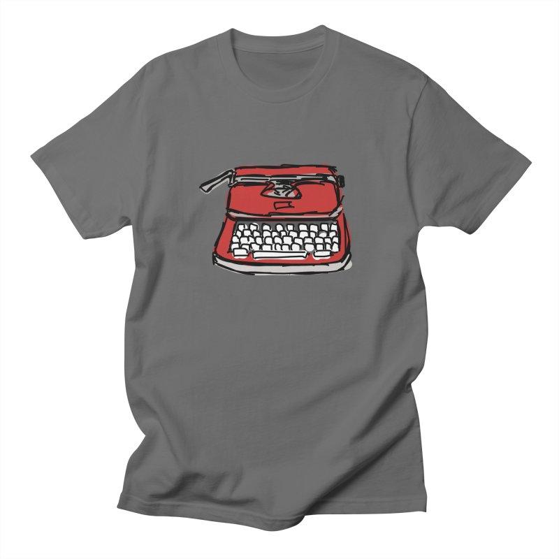 Typewriter Men's T-Shirt by Stonestreet Designs