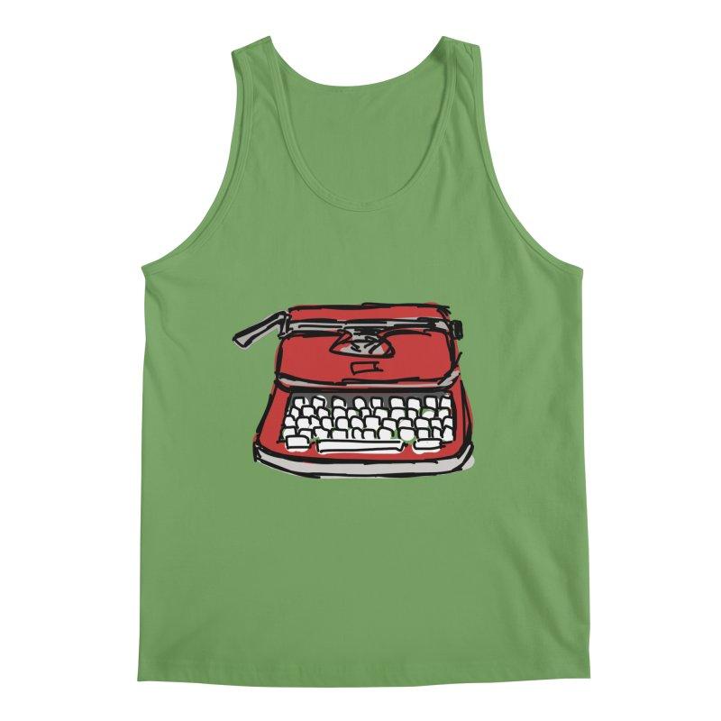 Typewriter Men's Tank by Stonestreet Designs