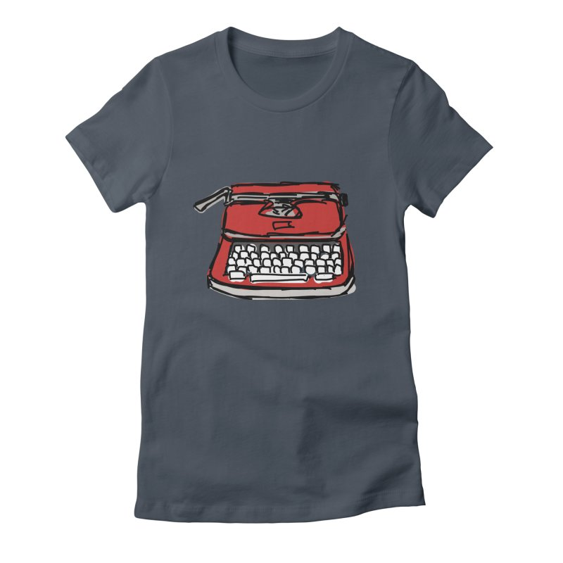 Typewriter Women's T-Shirt by Stonestreet Designs