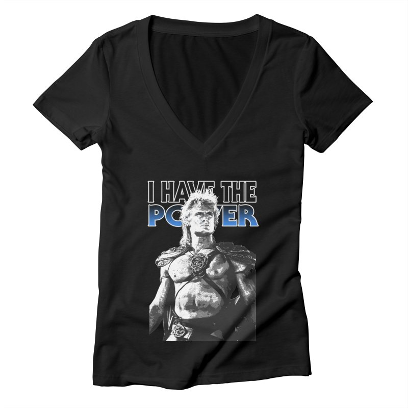 I Have the Power Women's V-Neck by Stonestreet Designs