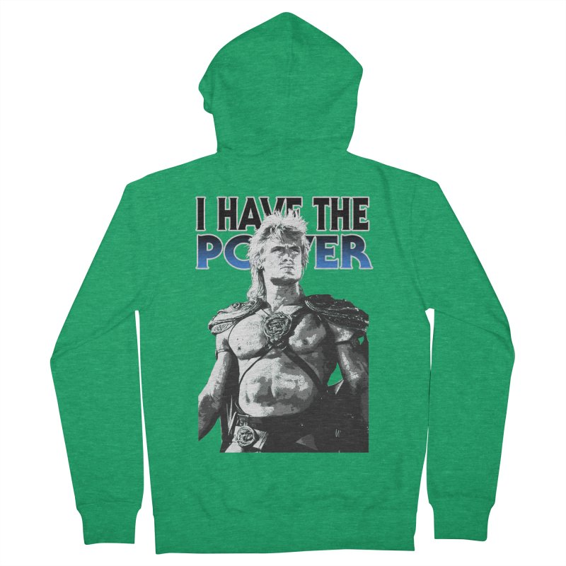 I Have the Power Men's Zip-Up Hoody by Stonestreet Designs