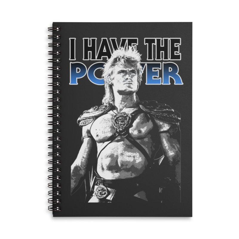 I Have the Power Accessories Notebook by Stonestreet Designs