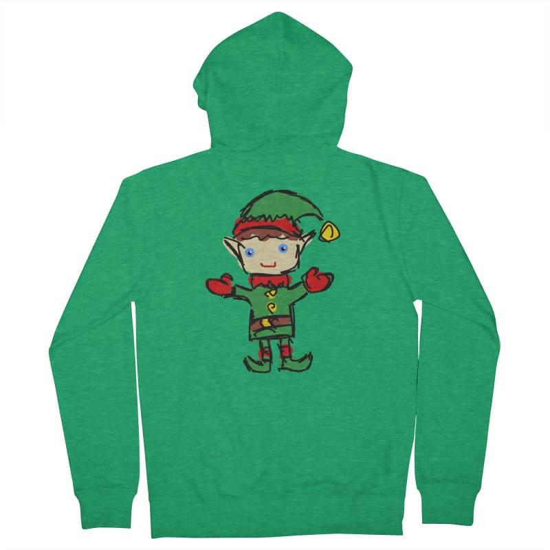 Elf Men's Zip-Up Hoody by Stonestreet Designs