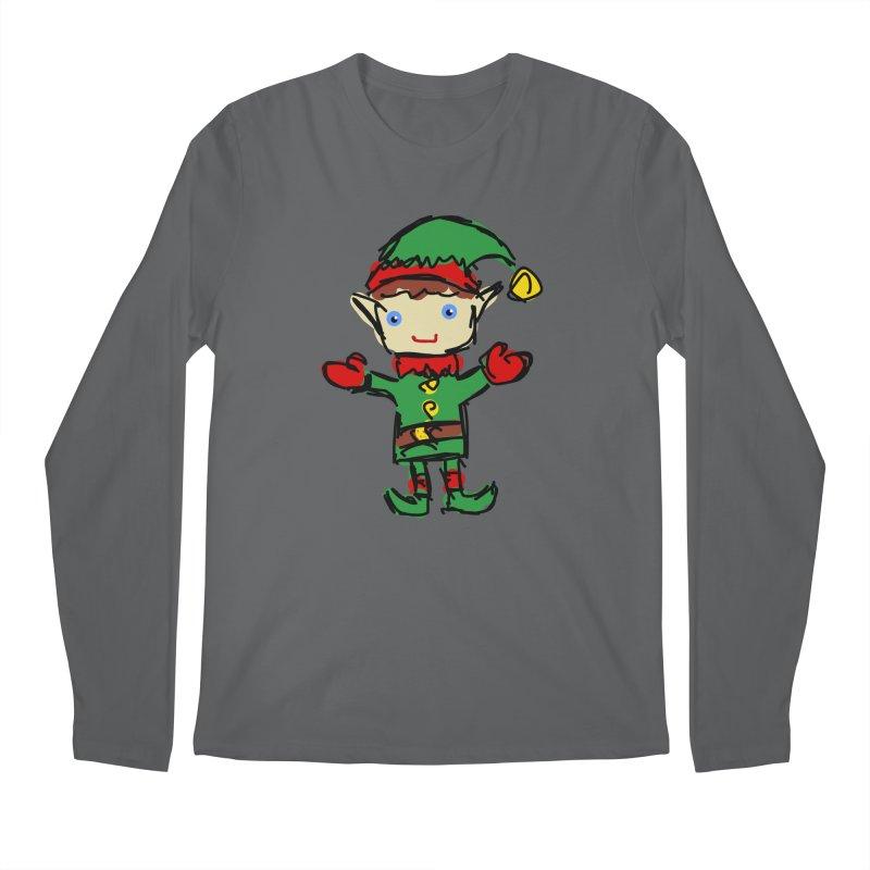 Elf Men's Longsleeve T-Shirt by Stonestreet Designs